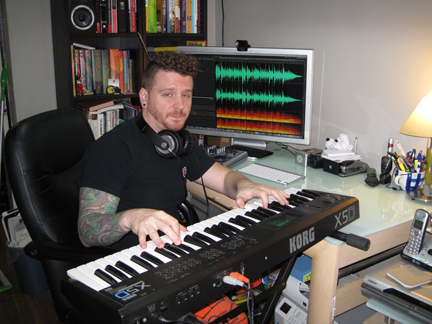 Todd Hanlon Apple workstation